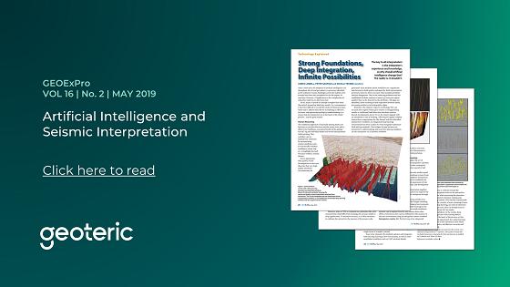 GEOExPro VOL 16  No. 2  MAY 2019 Artificial Intelligence and Seismic Interpretation