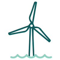 Wind turbine placement