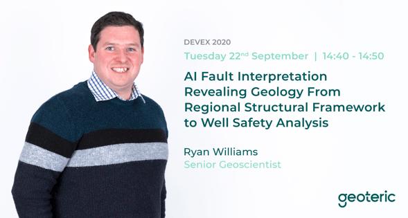 DEVEX Williams AI Fault Interpretation Geoteric