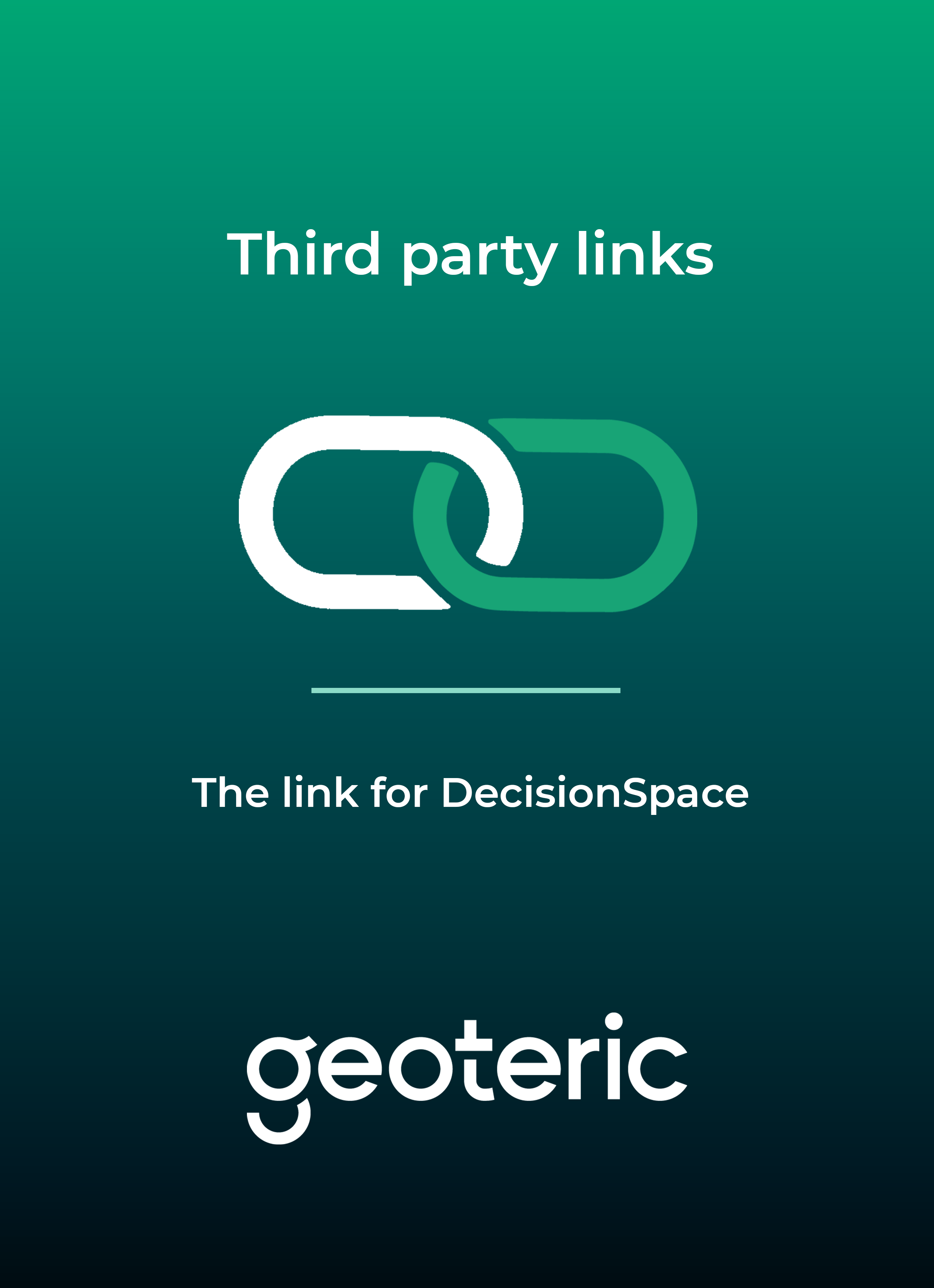 DecisionSpace user guide