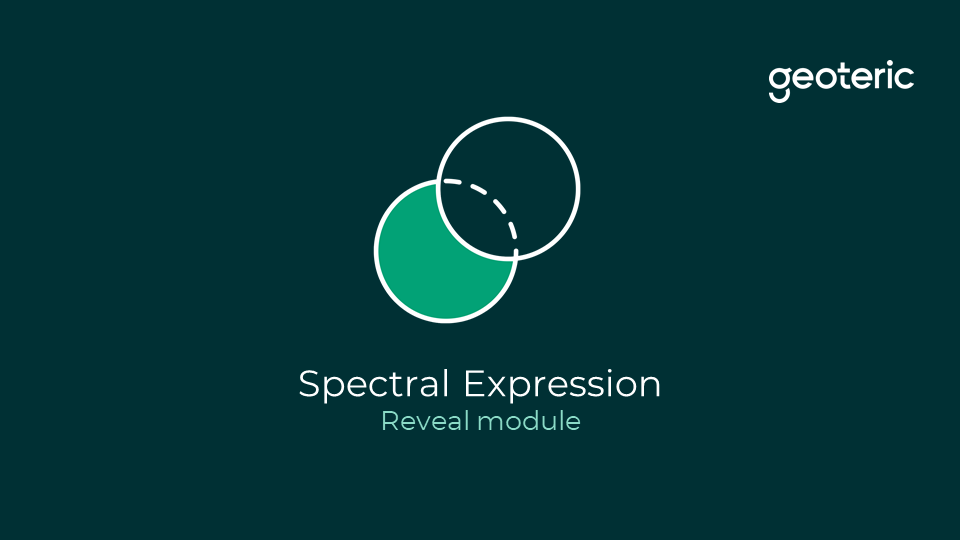 Spectral expression reveal module
