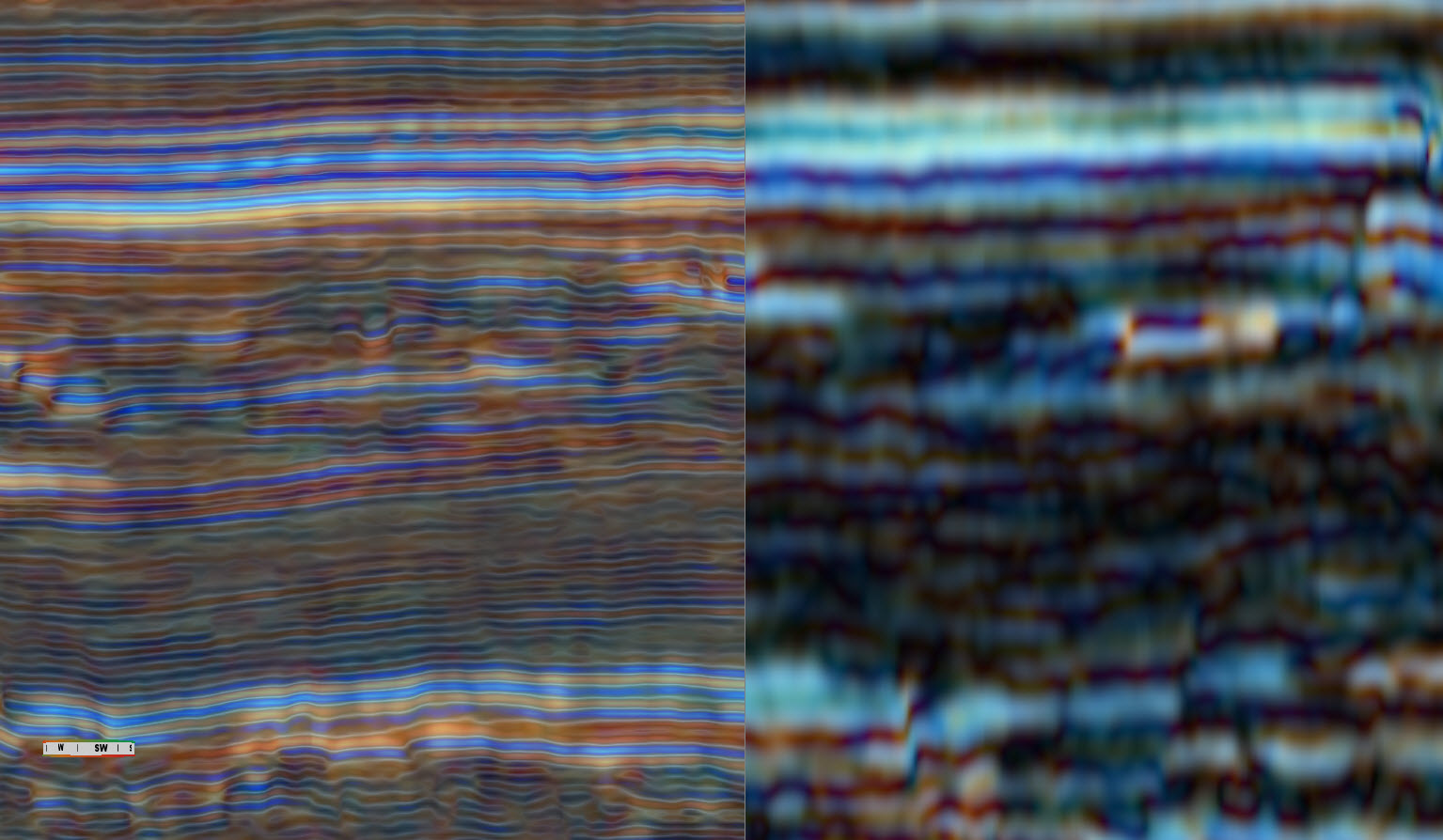 Constant Q Frequency Decomposition Colour Blending in GeoTeric