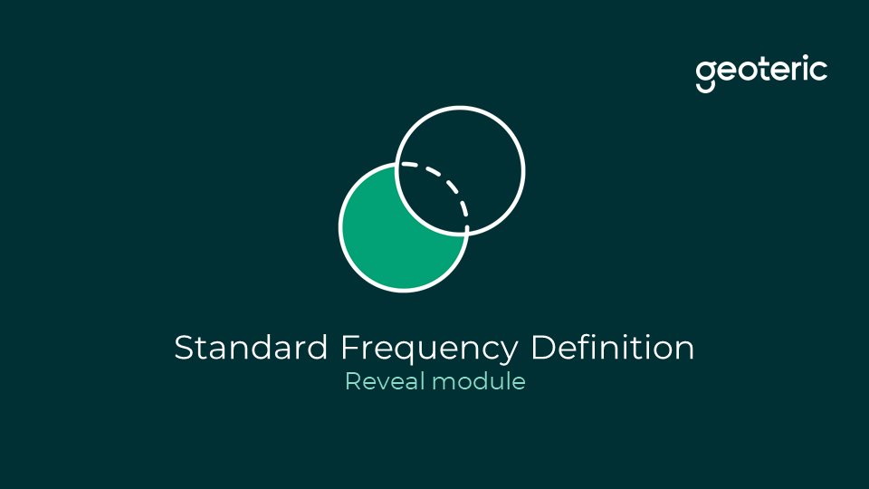 Standard frequency definition reveal module